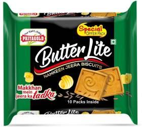 Priyagold Butter Lite Namkeen Jeera Bakery Biscuit