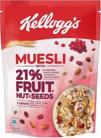 Kellogg's Muesliwith 21% Fruit, Nut & Seeds