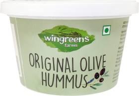 WINGREENS Original Olive Hummus Dip