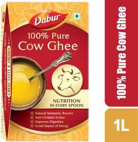 Dabur 100% Pure Cow Ghee 1 L Tetrapack