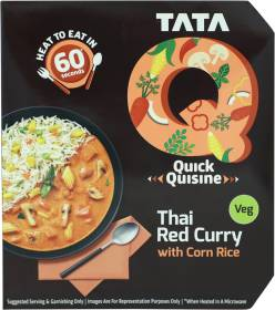 Tata Q Thai Red Curry with Corn Rice 330 g