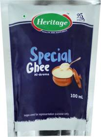 Heritage Special Ghee 100 ml Pouch