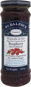 St. Dalfour Raspberry Fruit Spread 284 g
