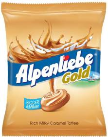 Alpenliebe Gold Rich Milky Caramel Toffee