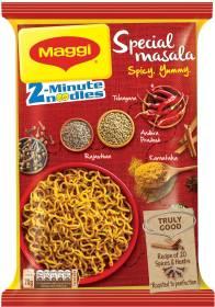 Maggi 2-Minute Special Masala Instant Noodles Vegetarian