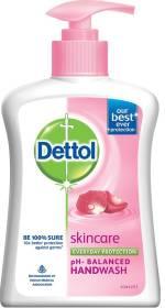 Dettol Skin Care PH Balanced Hand Wash Pump + Refill
