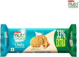 BRITANNIA NutriChoice Oats, Milk Almond Cookies