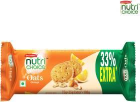 BRITANNIA NutriChoice Oats, Orange Almond Cookies