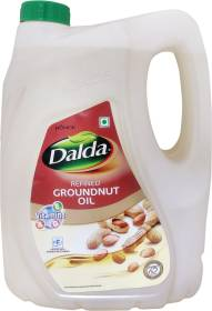 Dalda Refined Groundnut Oil Can