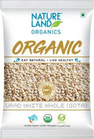 Natureland Organics Organic Urad Dal (Whole)