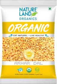 Natureland Organics Organic Arhar Dal (Split)
