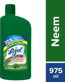 LIZOL Disinfectant Surface Cleaner Neem