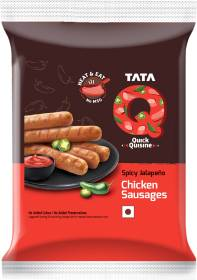 Tata Q Spicy Jalapeno Chicken Sausages 180 g