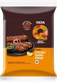 Tata Q Classic Chicken Seekh Kebab 180 g