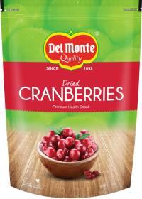 Del Monte Dried Cranberries