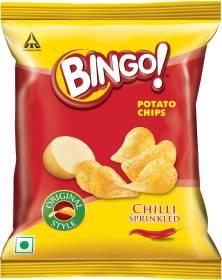 Bingo Yumitos Chilli Sprinkled Chips