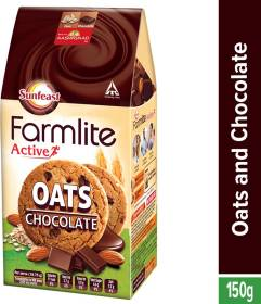 Sunfeast Farmlite Digestive Oats with Chocolate Digestive