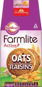Sunfeast Farmlite Oats with Raisins Biscuits Digestive