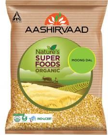 AASHIRVAAD Organic Moong Dal (Split)