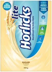Lite Horlicks Badam Flavour