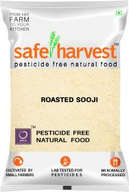 safe harvest Roasted Sooji