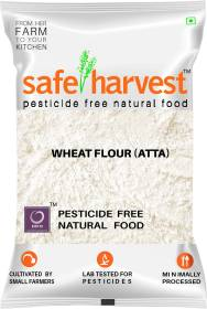 safe harvest Whole Wheat Atta