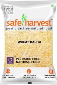 safe harvest Wheat Daliya Broken Wheat