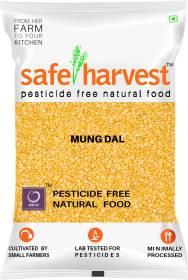 safe harvest Yellow Moong Dal (Split)
