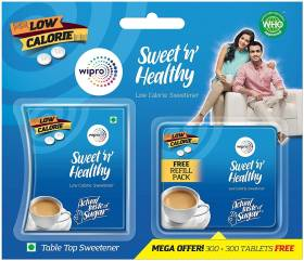 Sweet n Healthy LOW CALORIE SUGAR SUBSTITUTE - ASPARTAME Sweetener