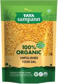 Tata Sampann Organic Organic Yellow Toor Dal (Split)