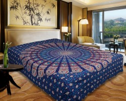 Urban Style Cotton Printed Double Bedsheet(1 Bedsheet, Multicolor)