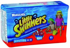 Huggies Little Swimmers - Medium - 11 (11-15Kg) - M(11 Pieces)