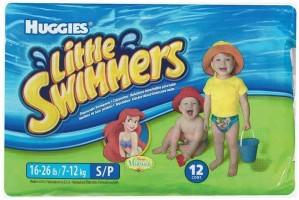 Huggies Little Swimmers - Small - 12 (7-12Kg) - S(12 Pieces)