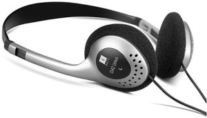 Iball I342 UNIVO Headset with Mic(GREY / BLACK, On the Ear)
