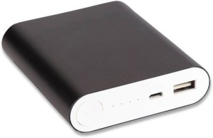 HBNS NK_104 USB PORTABLE POWER SUPPLY 10400 mAh Power Bank(Black, Lithium-ion)