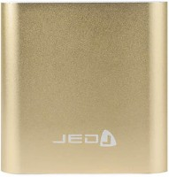 JED Powershell USB PORTABLE 10400 mAh Power Bank(GOLDEN, Lithium-ion)