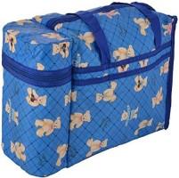 CHINMAY KIDS WonderKart Multi Purpose Baby Diaper Mother Bag Holders - Keep Baby Warm (Dark Blue) 2 Zip Compartment Warmer and 1 Back Pocket(Dark Blue)
