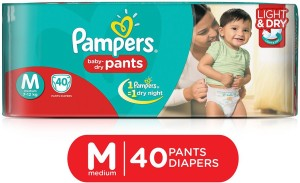 Pampers Baby-Dry Pants - M(40 Pieces)
