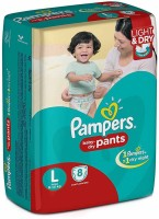 Pampers Baby-Dry Pants - L(8 Pieces)