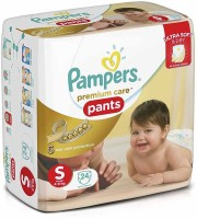 Pampers Premium Care Pants Diapers Small Size - S(24 Pieces)