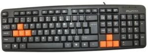 Punta KB32 Wired USB Laptop Keyboard(Black)