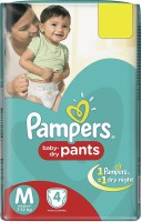 Pampers Baby-Dry Pants - M(4 Pieces)