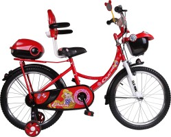 398423f7f9c HLX-NMC HLX-NMC 20 INCH CARX KIDS BICYCLE RED BLACK 20 T Single