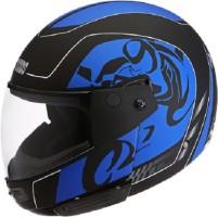 78ffaea0 Studds NINJA D3 DECOR Motorbike Helmet(D3 MATT BLACK N1 BLUE)