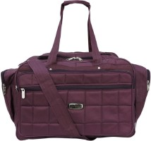 6c60978ab9cf SuiDhaga 18 Inches PU Wine Casual Innova Travelling Bag 1 Main Compartments  2 Front   2