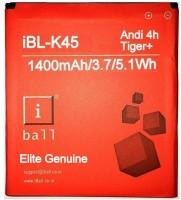 Iball Battery - K-45 For Andi 4 IPS Velvet ( High Battery Backup )(Red)