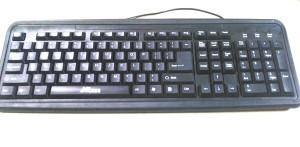 XCESS 202U Wired USB Multi-device Keyboard(Black)