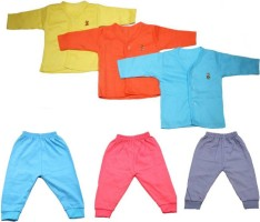 Eshas Boys & Girls Casual Shirt Pant(Multicolor)