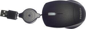Zebion RC_GK_MS_BK Wired Optical Mouse(USB, Black)