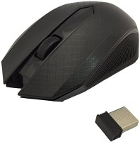 Inspire Cloud 2.4 Ghz Wireless mouse with mouse pad Wireless Optical Mouse(USB, Black)
